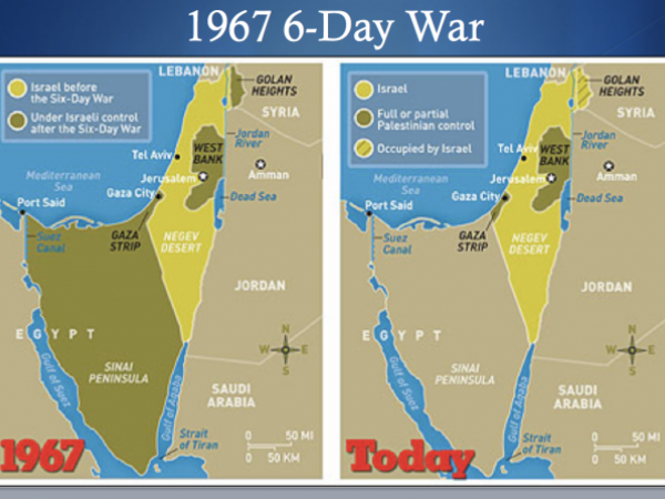 State of Israel and Palestinian conflict