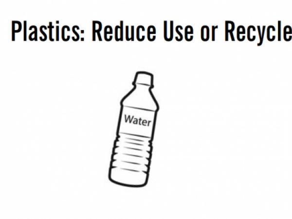Plastics: Reduce Use or Recycle?