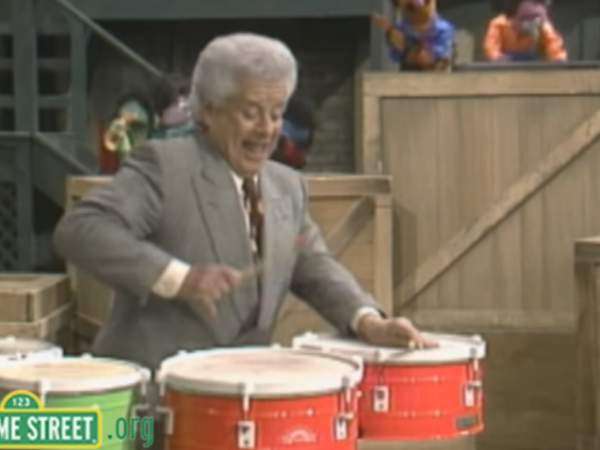 Sesame Street with Tito Puente: Real Grouches Don't Dance