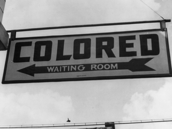 Civil rights movement: 1950s racial segregation