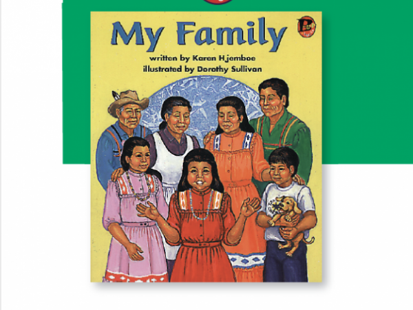 My Family - Guided Reading Lesson Plan