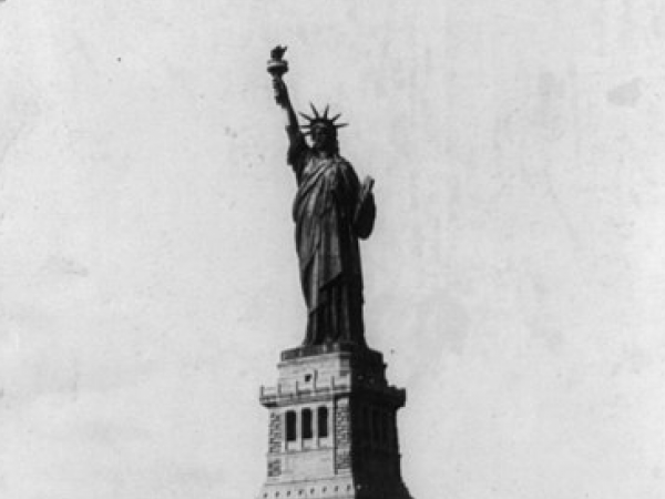 The Statue of Liberty, 1900