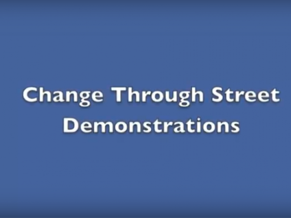 People Power Section 3: Street Demonstrations