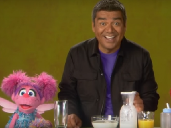 Sesame Street: George Lopez Explains the Word Liquid