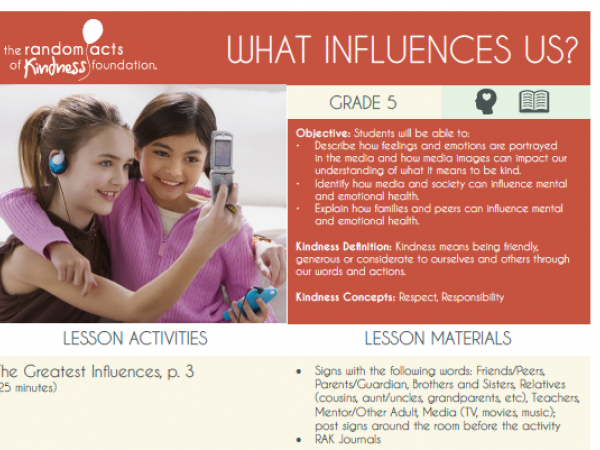 What Influences Us?