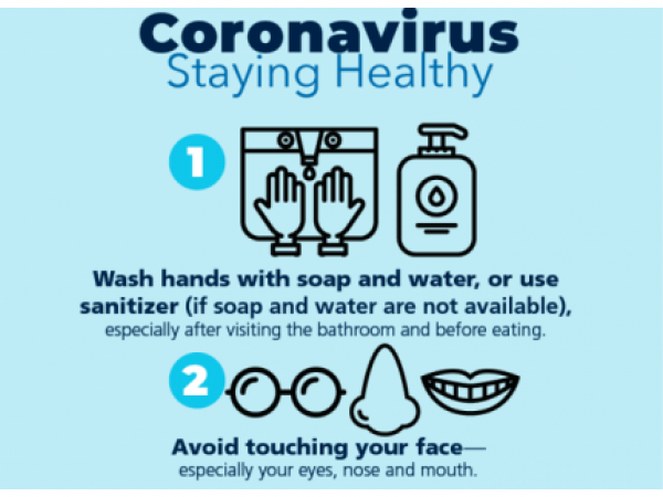 Parent and Community Printables for the Coronavirus: Prevention Tips - English and Spanish