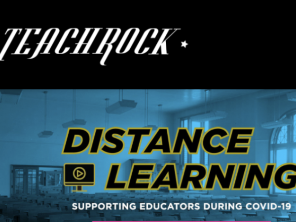 Arts Integration with TeachRock: Supporting All Students in Blended Learning