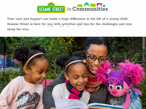 Ready to Grow: Sesame Street in Communities Resources for School Readiness