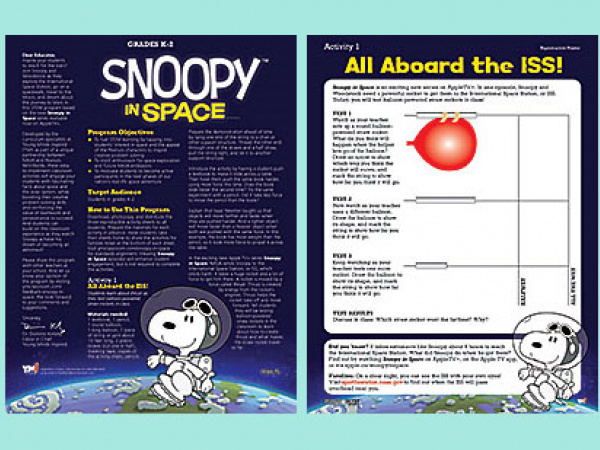 Snoopy in Space