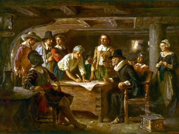 NO EXTRA ROOM ON THE MAYFLOWER - Thanksgiving Activity
