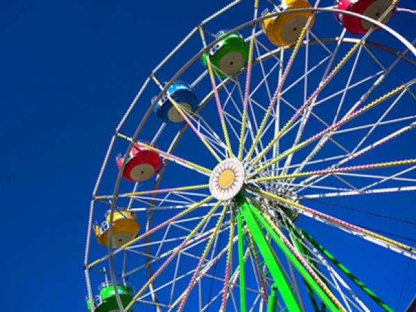 Using Fractions to Compare Amusements Parks By States