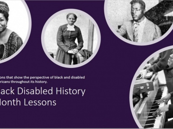 Black History Month Lesson and Project Pack: Highlighting Black Disabled Individuals in American History