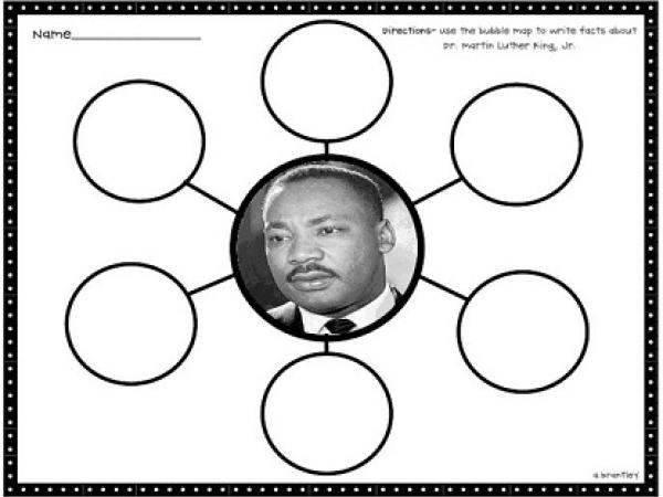 Martin Luther King Jr. - 3 Day lesson Activity