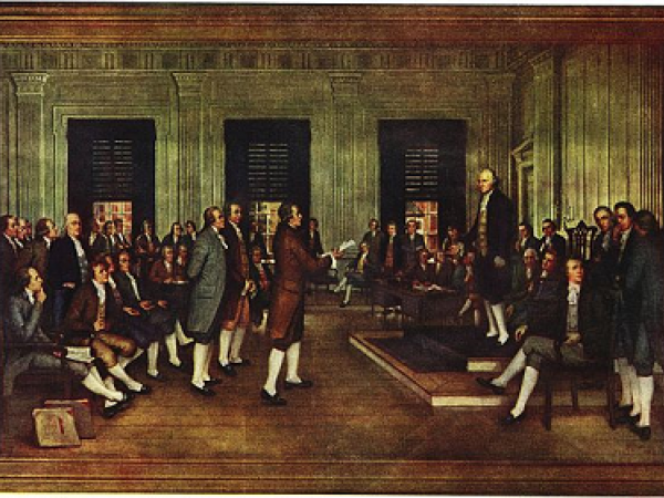The Constitution and Notes of Debates Lesson Plan