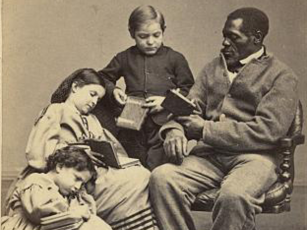 Examining Changes in Data - African-Americans' Education Levels Through the Years