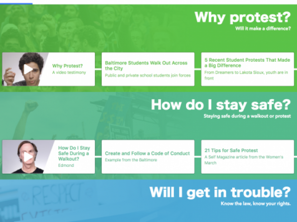 Youth in Front: Online Resource about Youth Civic Activism