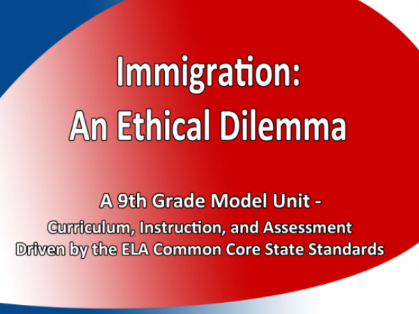 Immigration: An Ethical Dilemma
