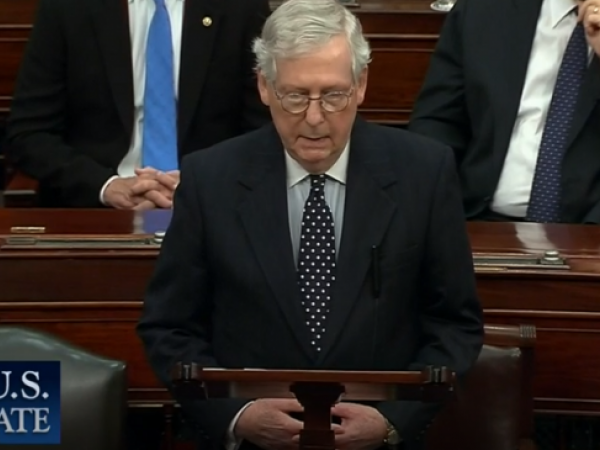 Video Clip: Majority Leader McConnell (R-KY) on Electoral Count Vote