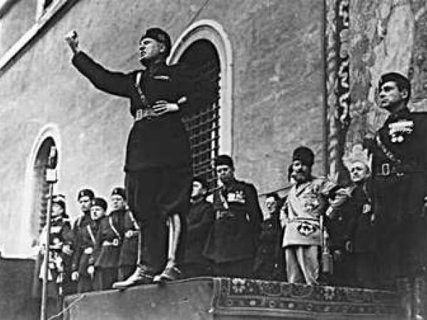 THE RISE OF FASCISM, NAZISM AND THE SECOND WORLD WAR