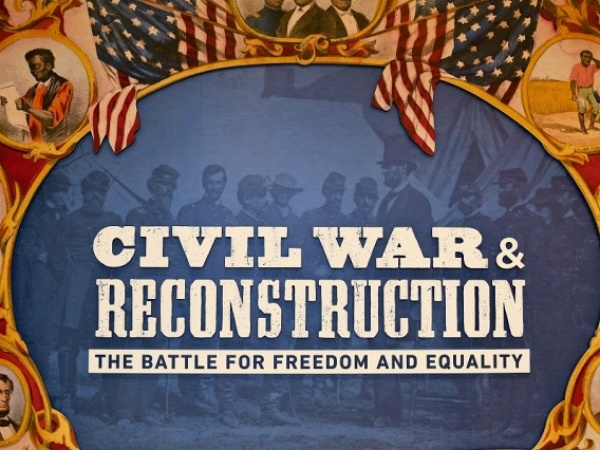 Live Classes on Slavery in America: The Constitution to Reconstruction