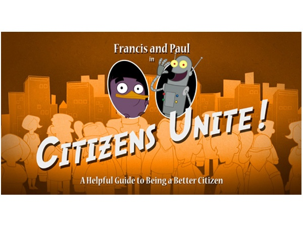 Citizens Unite! A helpful guide to being a good citizen