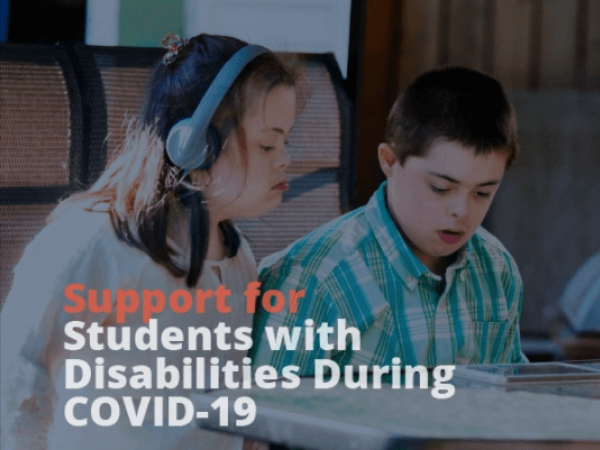 supporting students with disabilities during coronavirus