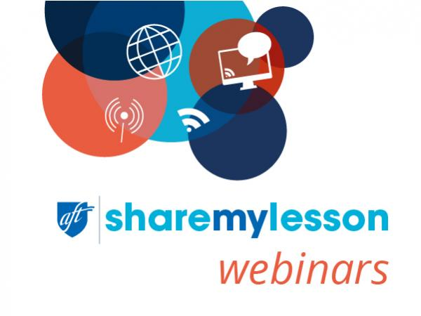 Share My Lesson Webinars Lesson Plans & Resources | Share My Lesson