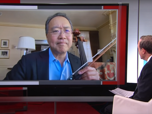 yo-yo ma interview on music in a crisis