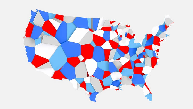 swing state united states map