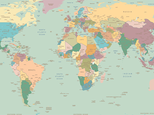 Interactive World Map Quiz | Share My Lesson