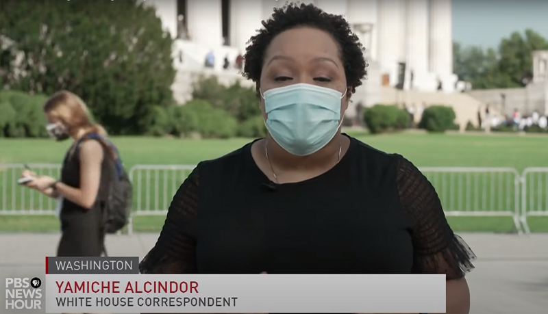 PBS NewsHour Extra reports from the March on Washington 2020